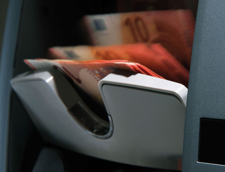 Remote software updates protect against counterfeit money